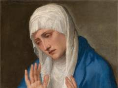 La Dolorosa con las manos abiertas, 15555. Tiziano
