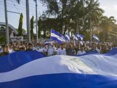 Una manifestación histórica pide la dimisión del presidente de Nicaragua