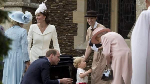 Bautizo de la princesa Carlota