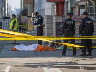 atropello masivo Toronto