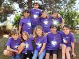 Nens i nenes a les colònies d'estiu de Fundesplai.