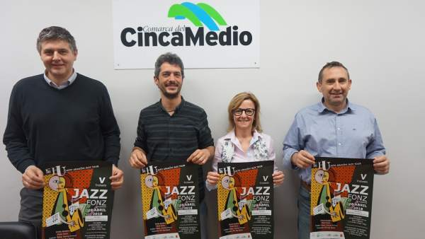 Presentación de la V Trobada Jazz de Fonz