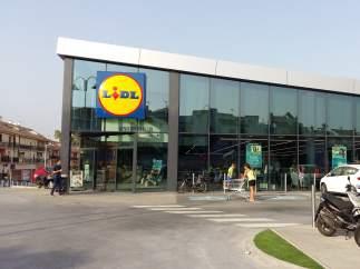 Un supermercado Lidl