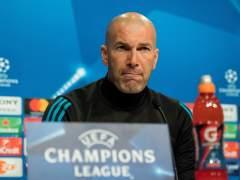 """Zidane """"En estos partidos nunca nos cagamos en los pantalones"""""""