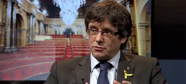 El TC admite la impugnación del Gobierno contra candidatura de Puigdemont
