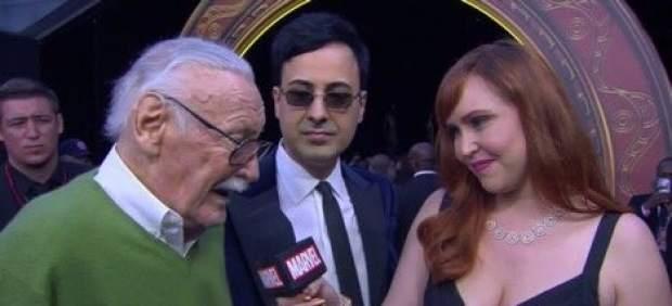Los fans de Marvel, preocupados por la salud de Stan Lee tras verle en la 'premiere' de 'Infinity ...