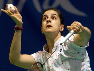 """Carolina Marín: """"Aunque estoy en mi tierra, he venido al Europeo a competir, no a estar de vacaciones"""""""
