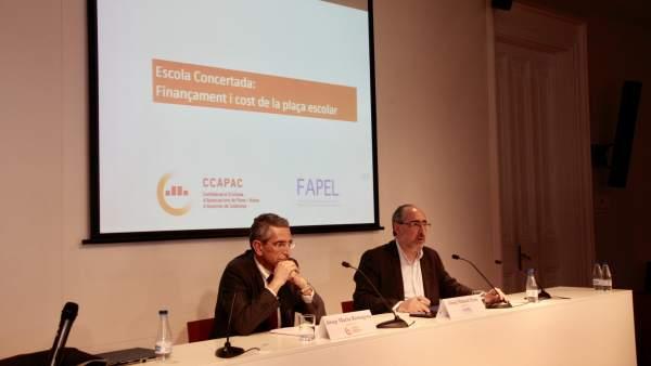 Josep Maria Romagosa y Josep Manuel Prats.