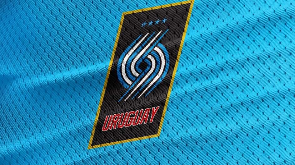 Escudos de selecciones, al estilo NBA. Escudos de selecciones, al estilo NBA: Uruguay