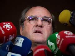Ángel Gabilondo, portavoz del PSOE en la Asamblea de Madrid, este miércoles.