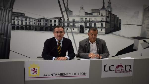 F. Salguero (I) y Santiago Llamazares(D) 25-4-2018