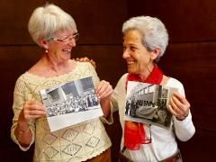 Nati Camacho y Ramona Parra, mujeres del mayo del 68