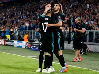 Lucas y Asensio se doctoran en Múnich en la ida de la Champions