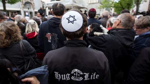 Berlín contra el antisemitismo