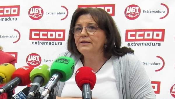 Patrocinio Sánchez, de UGT, valora la EPA