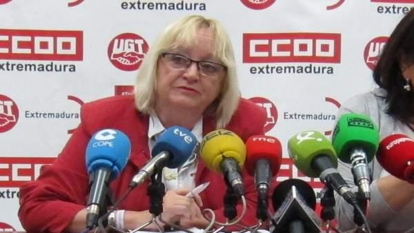 Encarna Sánchez, de CCOO, valora la EPA