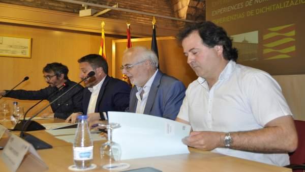 El taller de Linguatec se ha realizado en el Edificio Pignatelli.