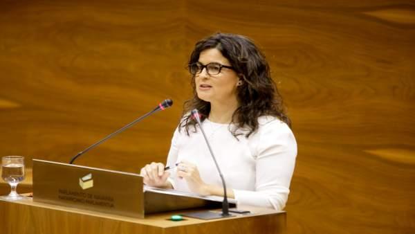 Maribel García Malo, parlamentaria de UPN.
