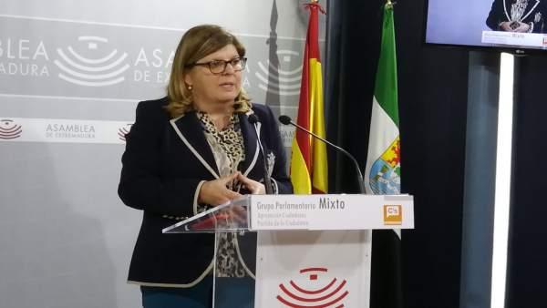 Victoria Domínguez en una imagen de archivo