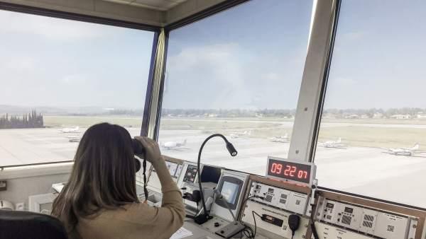 Torre del aeropuerto de Córdoba