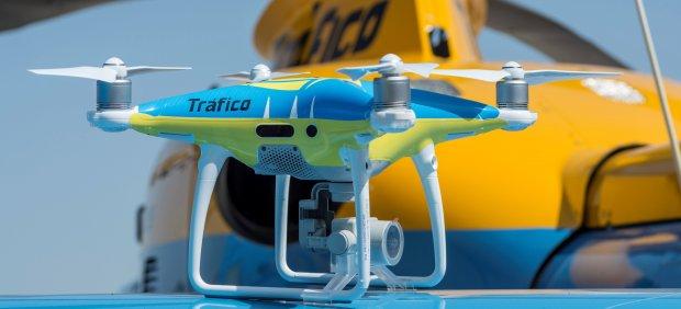 Dron para regular el tráfico