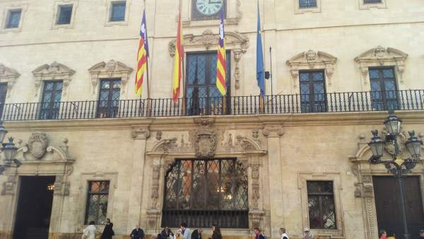 Fachada del Ayuntamiento de Palma