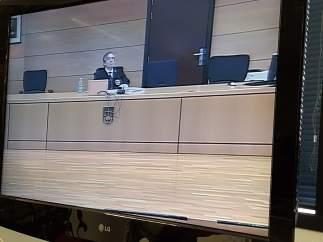 Lectura del fallo de la sentencia del juicio a 'La Manada'.