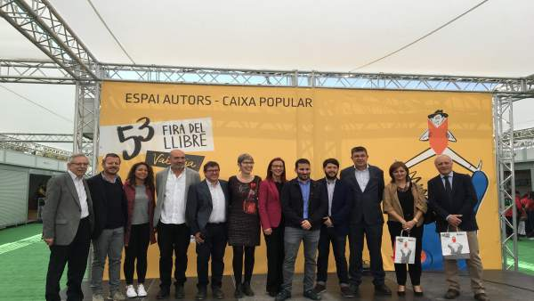 Inauguración de la 53 Fira del Llibre de València