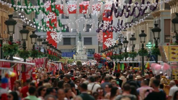 Feria de Málaga, Centro, 2017