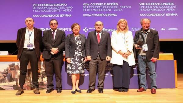 Inauguración del Congreso sobre Salud Mental del Niño en Bilbao