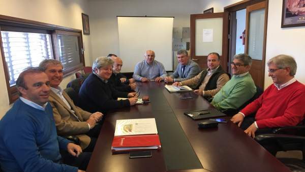 Reunión técnica sobre la depuradora de la Cuenca Minera.