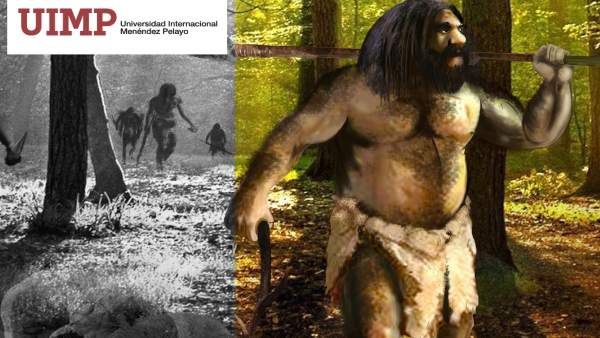 Cartel del Congreso sobre el Paleolítico Inferior en Cuenca