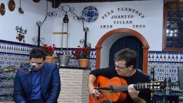 Joaquín Sola y Víctor Rosa.