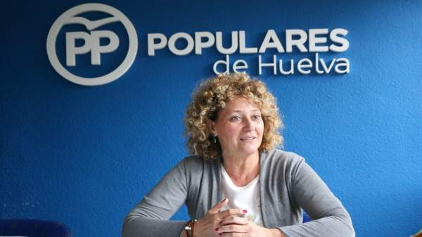 La candidata independiente del PP a la alcaldía de la capital, Pilar Marín.