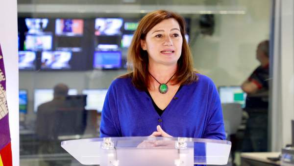 La presidenta del Govern, Francina Armengol. Foto de archivo.