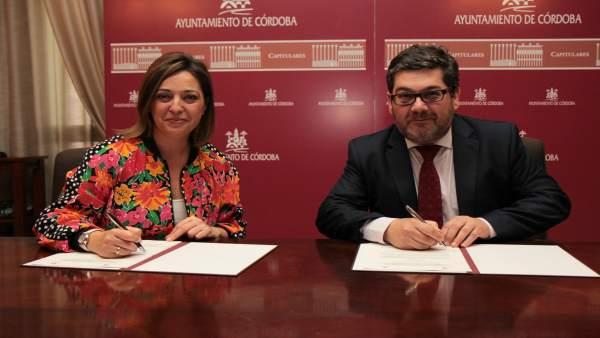 Isabel Ambrosio y Jacinto Mañas