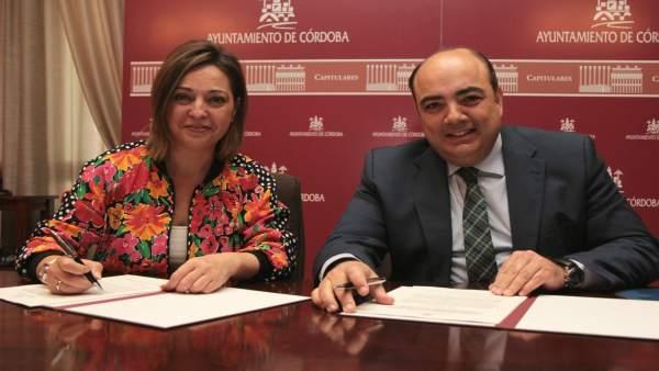 Isabel Ambrosio y José Luis Garrido