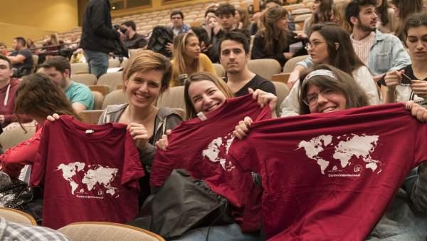 1.800 Alumnos De La US Disfrutarán Del Programa De Movilidad Internacional.