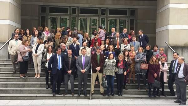 Jueces y fiscales vascos piden mejoras