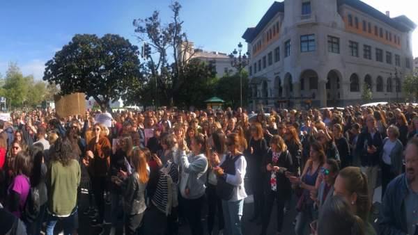 Protesta sentencia La Manada