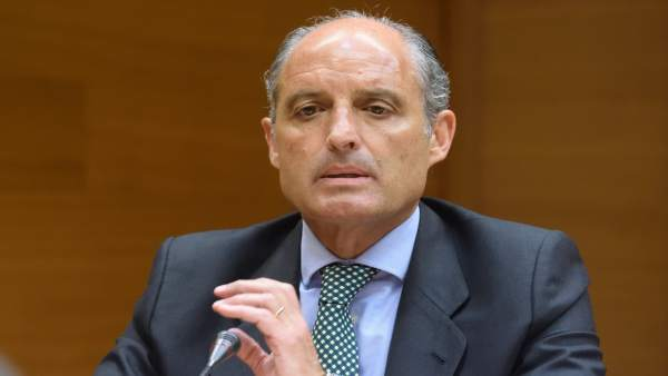 El 'expresident' Francisco Camps, en su intervención en Les Corts
