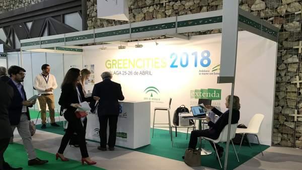 Participación de Andalucía en Greencities 2018