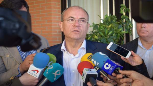 El presidente del PP de Extremadura, José Antonio Monago