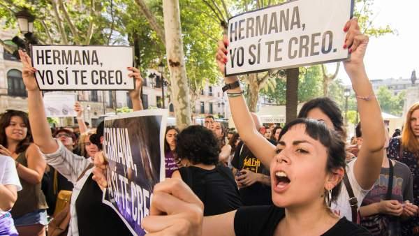Protestas por la Manada
