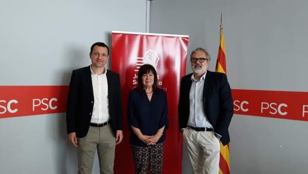 La presidenta del PSOE y ex ministra de Medio Ambiente, Cristina Narbona
