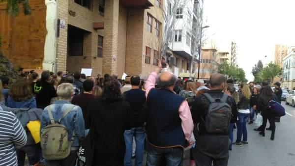 Imagen protesta por la sentencia dictada a 'La Manada'