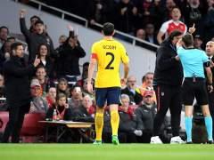 Simeone pierde los papeles y es expulsado por insultar al árbitro