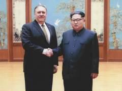 La Casa Blanca publica fotos de la reunión entre Pompeo y Kim Jong-un