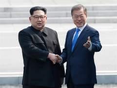Kim Jong-un y Moon hablan de desnuclearización y ultiman una declaración conjunta