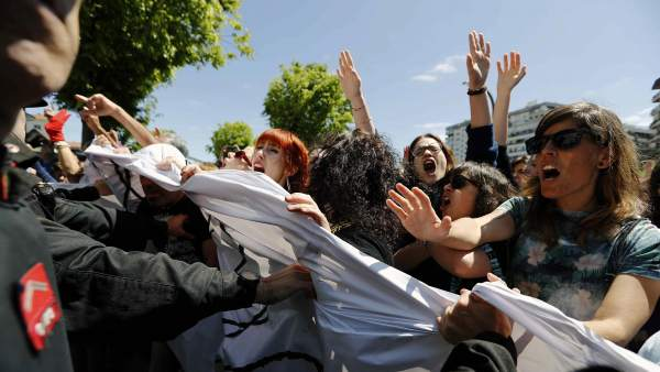 Protesta por la sentencia de La Manada